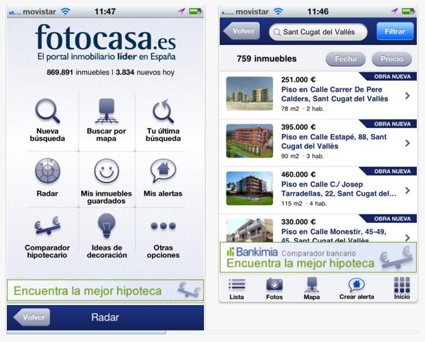 FotoCasa portal inmobiliario