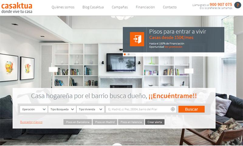 Casaktua portal inmobiliario de Banesto Pisos de embargo de Banesto