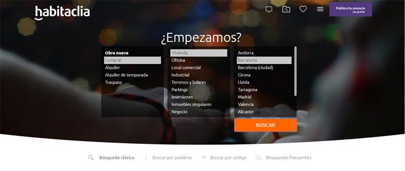 Habitaclia Portal inmobiliario