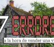 Los 7 errores más comunes al intentar vender una vivienda